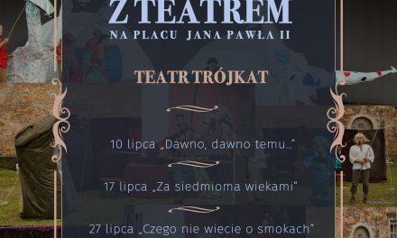 Ciechanów: Plenerowe teatry dla dzieci przed ratuszem