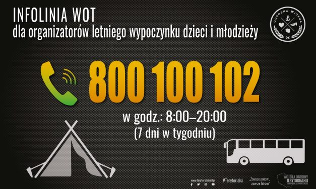 Potrzebujesz wsparcia w organizacji kolonii dla dzieci? Zadzwoń już dziś: 800-100-102