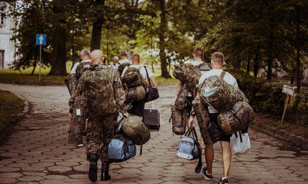 Nowi ochotnicy w szeregach terytorialsów