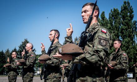 """""""Ja żołnierz Wojska Polskiego… """" – terytorialsi przysięgali"""