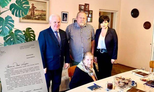 Starostwo nagrodziło Lucynę Janikową
