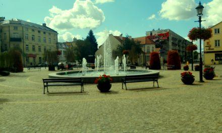 Ciechanowskie fontanny znów dają ulgę podczas upałów