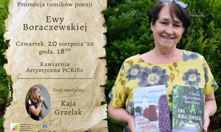 Promocja tomików poezji Ewy Boraczewskiej