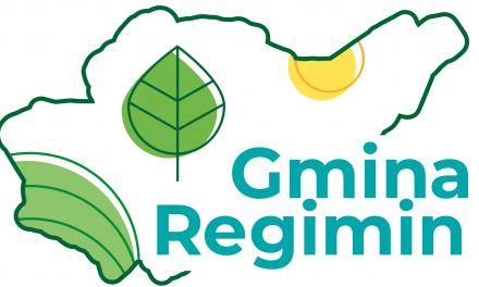 Logo gminy Regimin
