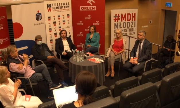 Konferencja prasowa XII Międzynarodowego Festiwalu Filmowego NNW
