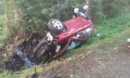 Wypadek w Skarżynku