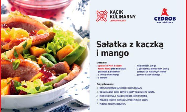 Sałatka z kaczką i mango