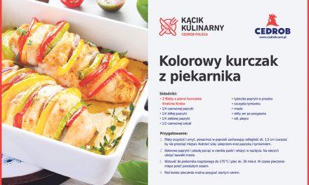 Kolorowy kurczak z piekarnika