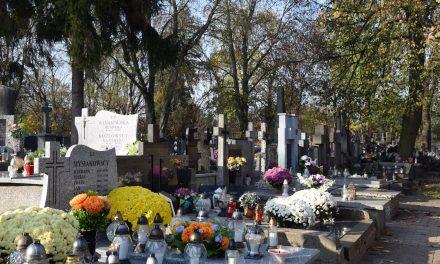 Na cmentarzu musisz mieć maseczkę