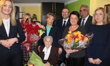 Regimin: 103 -urodziny Pani  Jadwigi Emilii Krętkowskiej