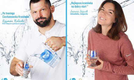 """Sportowcy promują """"Ciechanowską Kranówkę"""""""