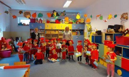 Pasowanie na przedszkolaka w Miejskim Przedszkolu nr 1 w Ciechanowie