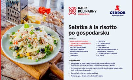 Sałatka à la risotto po gospodarsku