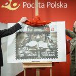 Terytorials na znaczku pocztowym