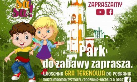 Rodzinna niedziela w sieci i w parku