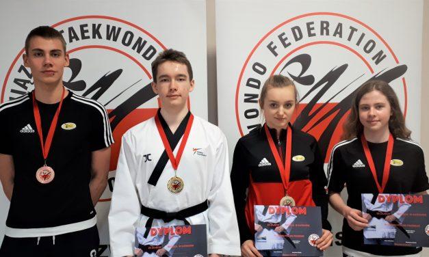 Cztery medale zawodników Promyka na Pucharze Polski w Taekwondo Olimpijskim