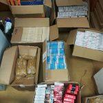 Ciechanów: Policjanci zabezpieczyli nielegalne papierosy i tytoń