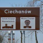 Na drogach wjazdowych do Ciechanowa nowe oznakowania o obiektach turystycznych