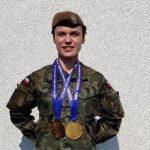 Szer. Małgorzata Bartosiak z 5 Mazowieckiej Brygady OT mistrzynią świata w trójboju siłowym