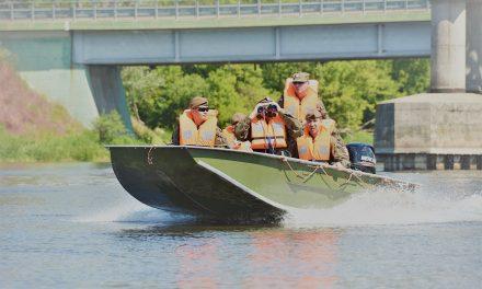 Saperzy na moście w Pułtusku (zdjęcia)