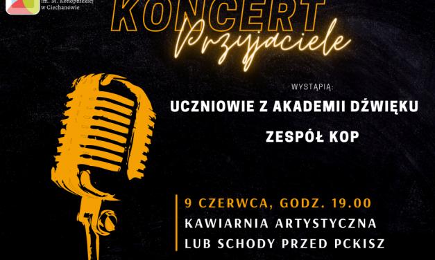 """Koncert """"Przyjaciele"""" w PCKiSz"""