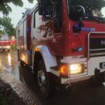 Gumowo:Pożaru budynku gospodarczego