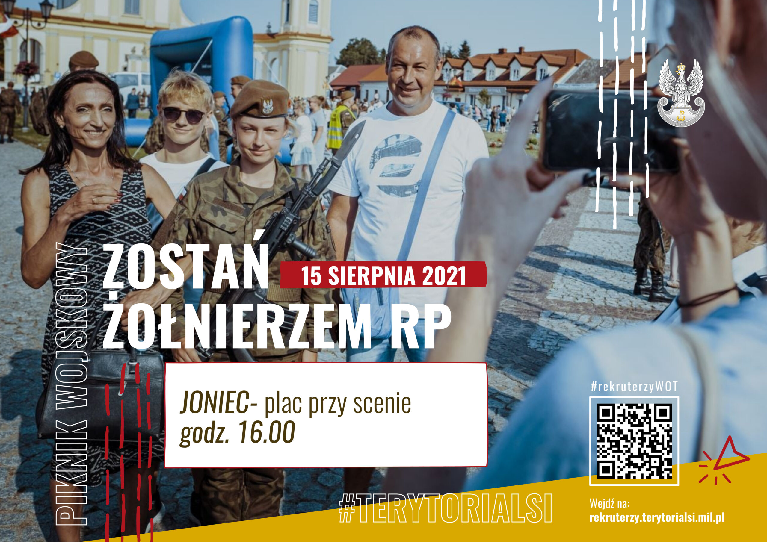 Piknik militarny z okazji Święta Wojska Polskiego w Jońcu