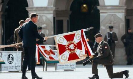 5.Mazowiecka Brygada Obrony Terytorialnej ma swój sztandaR