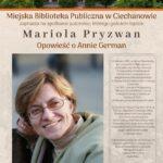 spotkanie autorskie z  Mariolą Pryzwan