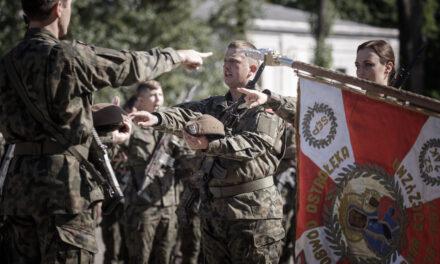 66 żołnierzy 5 Mazowieckiej Brygady Obrony Terytorialnej złożyło przysięgę wojskową