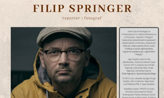 spotkanie autorskie z Filipem Springerem